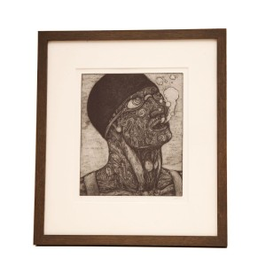 Brian McKenzie The Last Breath Of Oscar Ozymandius  Drypoint  4/15
