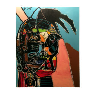 Bird Eye by Adebayo Bolaji at Someth1ng Gallery